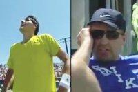 Šílený otec tenisty Tomice: Zbil syna, pak i jeho tréninkového partnera