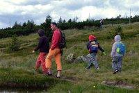 Vizovická vrchovina i Beskydy - pěšky Zlínským krajem