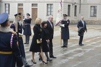 Zemanovi přiletí na inauguraci dcera Kateřina. Hrad dává pozor i na řečnický pultík