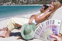 Koruna je v kondici: Eura na dovolenou vyměňte ještě dnes