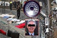 Strojvůdce zabiják z vlaku smrti: Běžně jezdil jako šílenec a chlubil se na facebooku