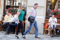 Nečas vzal Nagyovou na procházku: Romantika na vysoké noze!
