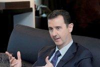 """""""Ti, co řezali hlavy, odjeli do Evropy,"""" vzkázal Čechům syrský prezident Asad"""