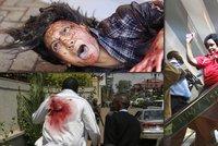 Děsivé obrazy smrti: Teroristé v obchoďáku postříleli nevinné lidi včetně dětí!