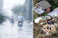Obrazy zkázy: Takhle vypadá řádění tajfunů! Zabijáci se jmenují Nari a Wipha