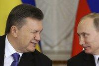 Putine, pomoz mi! Janukovyč žádá Rusko o ochranu, to souhlasí
