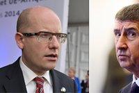 """Sobotka plísnil ministry za špatnou docházku. Nechodí na """"grilování"""" do sněmovny"""