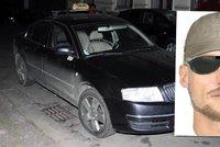 Případ taxivraha: Policie má horkou stopu?! Obcházeli taxikáře s fotkou podezřelého muže