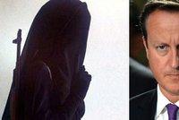 18letá džihádistka: Hlavu premiéra Camerona narazím na kůl!