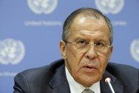 Rusko má plán na ukončení syrské krize: USA návrh studují, říká Lavrov