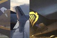 Na letišti v Dublinu se srazila dvě letadla! Ocas usekl křídlo