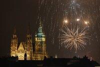 Praha vítá nový rok: Ohňostroj můžete sledovat živě na Blesk.cz