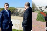 Babišová před Bílým domem, Babiš v Pentagonu: Co napsal o úmrtí Grosse