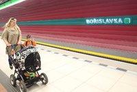 Metro na Bořislavce nezastavuje: Mohou za to »rozbité« eskalátory