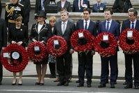 Volby nevolby: Vítězové i poražení uctili památku padlých britských vojáků