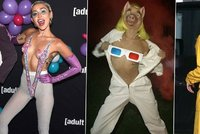 Bláznivá Miley Cyrus pokračuje v nekončící jízdě: Její prsa světélkují