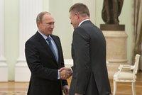 Kam vítr, tam Fico: Slovenský premiér udělal při návštěvě Moskvy pěknou ostudu