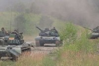 Tanky, obrněné vozy i pandury. Češi odjeli na důležité cvičení NATO