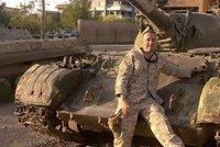 Příběh českého bojovníka proti ISIS: René šel do Iráku cvičit posádky tanků