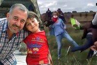 Oběť kopající kameramanky? Fotbalový trenér ze Sýrie
