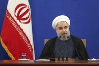 Írán už nechce zničit Izrael? Prezident Rúhání popřál Židům k Novému roku