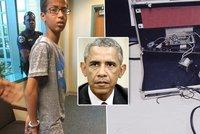 Kluka zatkli, protože si spletli hodiny s bombou! Chce ho vidět Obama