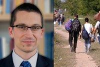Politolog Stanislav Balík: Uprchlíci chtějí blahobyt, ale námi opovrhují