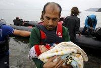 Rychlomigrace na řecký ostrov Lesbos: 1200 uprchlíků za hodinu