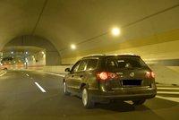 Jako první jsem zkrvavil Blanku! Tunel museli uzavřít kvůli nehodě motorkáře