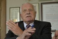 Václav Klaus: Evropa migranty nepotřebuje. Omladit potřebuji já
