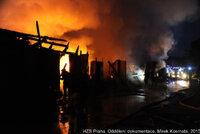 Přímotop za 10 milionů: Požár u nádraží v pražském Sedlci vznikl kvůli topítku