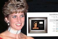 Šílená aukce: Na internetu dražili část těla princezny Diany! Chtěli necelých třicet tisíc