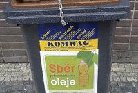 Lidé v Praze mohou recyklovat olej. Zatím tápou, jak ho dostat do popelnice
