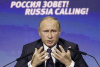 Putin o bojích v Sýrii: Američané mají v hlavě zmatek, o co jim jde?