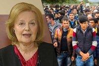 Vášáryová o uprchlících: Babičky ze vsi se bojí, že je znásilní běženci