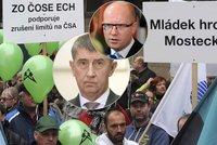 Vláda po protestech v Ústí rozhodla: Těžební limity na Bílině končí