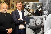 Výstava k 95. výročí narození Rudolfa Hrušínského: Synové ho skoro neznali, tátou byl jen před kamerou