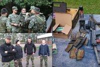 Uprchlický tábor obklíčili extremisté: V lese se připravují na válku a sympatizují s Ruskem