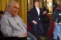Zeman se zastal Ivana Langera: Bez obvinění v kauze vlastně není