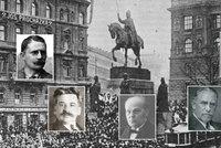 To jsou »Muži 28. října«: Před 97 lety nám vzkázali, že sen se stal skutkem!