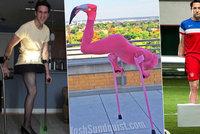 Američan přišel kvůli rakovině o nohu: Jeho smysl pro humor vás rozesměje