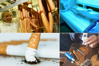 Nejnebezpečnější karcinogeny: Co všechno vás může zabít kromě uzenin?