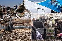 O bombě v ruském letadle si volali islamisté. A černá skříňka zachytila explozi