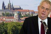Zeman: BIS mě varovala před teroristickým útokem na Hrad