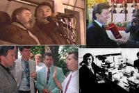 """14 """"překvapivých"""" lidí, s nimiž se Gott setkal: Kmotr Mrázek, Jonák i John Lennon"""