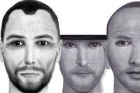 Tohle je tvář fekálního fantoma! Policisté ukázali podobizny muže, který útočí na ženy výkaly