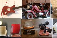 Šikovní Češi si s nedostatkem za socialismu poradili: Na koleni jsme vyrobili kytaru i motorku!