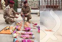 ISIS chtěl povraždit nevinné děti. Vojáci našli panenky plné výbušnin