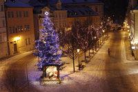Naděje na bílé Vánoce? Čeká nás hodně srážek a teploty okolo nuly