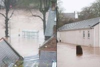 Británii zasáhla bouře Desmond: Zemřel jeden člověk